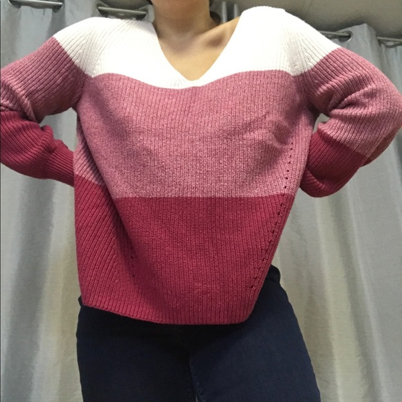 Reitmans ombre knit shirt